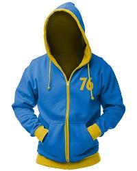 Fallout Vault 76 Zip Hoodie (L) für Merchandise