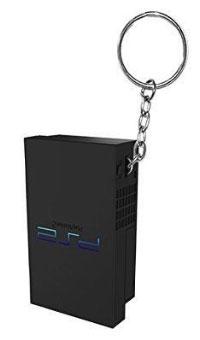 Sony PlayStation 1 Retro Controller Gummi-Schlüsselanhänger - Keychain (offiziell lizenziert) für Merchandise