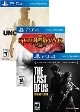5 Games uncut Pack - God of war - Last of US - Uncharted 1,2,3 Collection