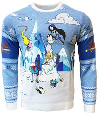 Adventure Time Festive Winter Xmas Pullover (M) (Merchandise)
