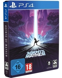 Agents of Mayhem Steelbook Edition uncut feat. Johnny Gat + 9 DLCs (PS4)