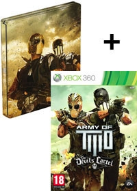 Army of Two: The Devils Cartel Steelbook uncut (Xbox360)