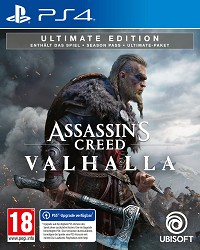 Assassins Creed Valhalla Ultimate Edition AT uncut (PS4)