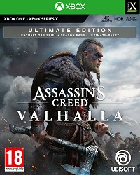 Assassins Creed Valhalla Ultimate Edition uncut (Xbox One)