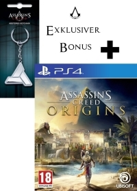 Assassins Creed: Origins uncut + Schlüsselanhänger (PS4)