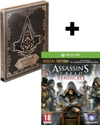 Assassins Creed: Syndicate Special Steelbook Edition AT uncut inkl. Bonus DLC (Xbox One)