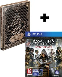 Assassins Creed: Syndicate Special Steelbook Edition inkl. Bonus DLC (PS4)