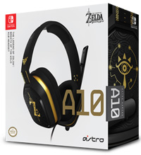 Astro Gaming A10 Headset The Legend of Zelda: Breath Of The Wild PS4, Xbox One, PC (Nintendo Switch)