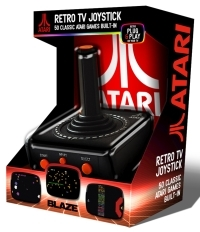 Atari Vault Bundle USB Joystick   Atari 100 Steam Games Pack (Gaming Zubehör)