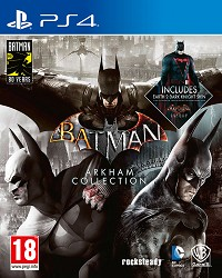 Batman Arkham Collection (Steelbook Edition) (PS4)