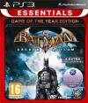 Batman: Arkham Asylum Game Of The Year uncut + 4 Bonus Maps (PS3)