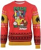 Batman Deck the Halls Xmas Pullover