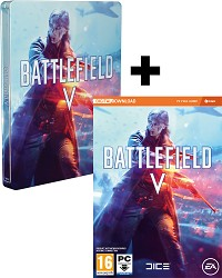 Battlefield 5 AT Limited Steelbook Edition uncut inkl. BETA Vorabzugang + 3 Preorder Boni (PC)