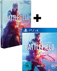 Battlefield 5 Limited Deluxe Steelbook Edition uncut + 3 Boni (PS4)