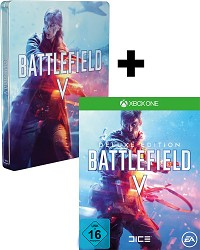 Battlefield 5 Limited Deluxe Steelbook Edition uncut + 3 Boni (Xbox One)