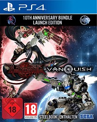 Bayonetta + Vanquish 10th Anniversary Bundle Limited Steelbook Edition uncut (PS4)