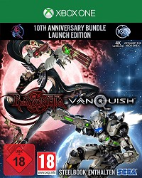 Bayonetta + Vanquish 10th Anniversary Bundle Limited Steelbook Edition uncut (Xbox One)