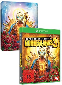 Borderlands 3 Super Deluxe Steelbook Edition uncut inkl. Bonus (Xbox One)