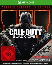 Call Of Duty Black Ops 3 + Zombies Chronicles uncut (Xbox One)