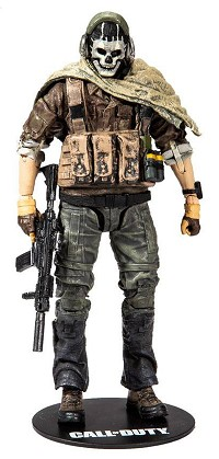 Call of Duty Actionfigur Special Ghost (15 cm) (Merchandise)