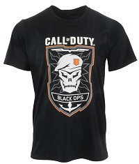 Call of Duty Black Ops 4 Black Ops Rubber T-Shirt (L) (Merchandise)