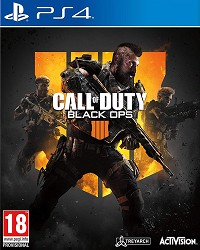 Call of Duty: Black Ops 4 uncut - Cover beschädigt (PS4)