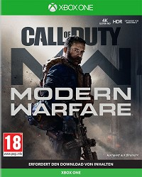 Call of Duty: Modern Warfare uncut - Cover beschädigt (Xbox One)
