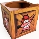 Crash Bandicot Crate Tasse