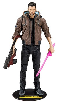 Cyberpunk 2077 Actionfigur V Male (18 cm) (Merchandise)