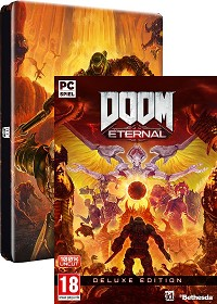 DOOM Eternal Deluxe Steelbook Bonus Edition uncut (PC)
