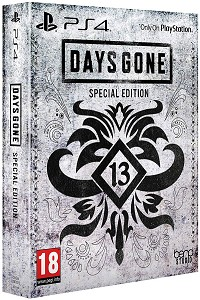 Days Gone Limited Special Steelbook Edition uncut inkl. Bonus DLC Pack (PS4)