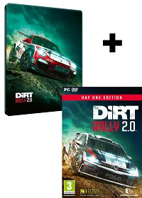 DiRT Rally 2.0 Day One STEELBOOK Edition inkl. Preorder Bonus (PC)