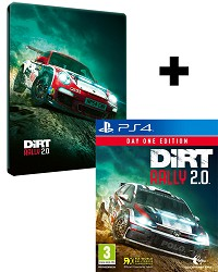 DiRT Rally 2.0 Day One STEELBOOK Edition inkl. Preorder Bonus (PS4)
