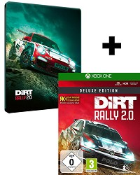 DiRT Rally 2.0 Deluxe Early Access STEELBOOK Edition inkl. Bonus (Xbox One)