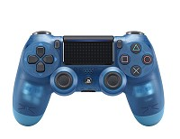 DualShock 4 wireless Controller Blue Crystal V2 (2017) Limited Edition (PS4)
