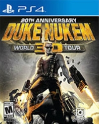 Duke Nukem 3D: 20th Anniversary World Tour uncut - Cover beschädigt (PS4)