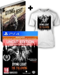 Dying Light Teil 1 + The Following AT D1 Bonus Steelbook Edition uncut + T-Shirt (L) (PS4)