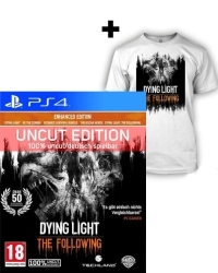 Dying Light Teil 1 + The Following Enhanced AT Edition uncut + T-Shirt (M) (PS4)