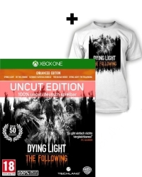 Dying Light Teil 1 + The Following Enhanced AT Edition uncut + T Shirt (L) (Xbox One)