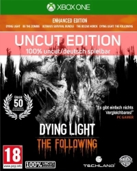 Dying Light Teil 1 + The Following Enhanced AT Edition uncut - Cover beschädigt (Xbox One)
