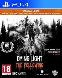 Dying Light Teil 1 + The Following EU Enhanced Edition uncut - Cover beschädigt (PS4)
