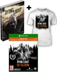 Dying Light Teil 1 + The Following AT D1 Bonus Steelbook Edition uncut + T-Shirt (L) (Xbox One)