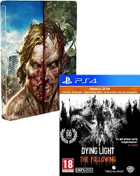 Dying Light uncut + Zombie Steelbook - Erstauflage (PS4)