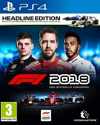 F1 (Formula 1) 2018 Headline Edition (PS4)