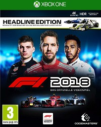 F1 (Formula 1) 2018 Headline Edition (Xbox One)