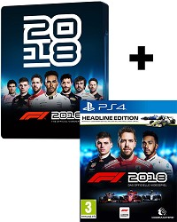 F1 (Formula 1) 2018 [Steelbook Headline Edition] (PS4)