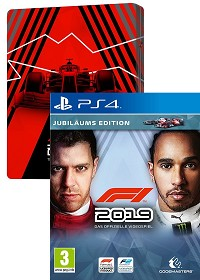 F1 (Formula 1) 2019 Jubiläums Edition inklusive Steelbook (PS4)