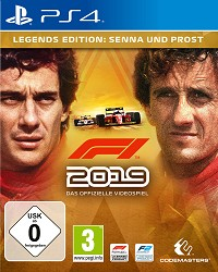 F1 (Formula 1) 2019 Legends Edition (PS4)
