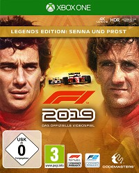 F1 (Formula 1) 2019 Legends Edition (Early Access) (Xbox One)