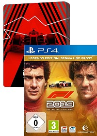 F1 (Formula 1) 2019 Legends Edition inklusive Steelbook (PS4)